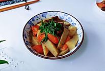 山药卜油鸭架汤的做法