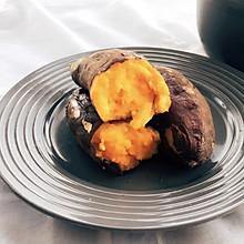 冬季必吃—砂锅烤红薯