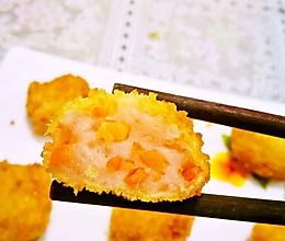 虾饼的做法