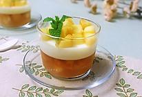 #夏日撩人滋味#桃子牛奶布丁的做法