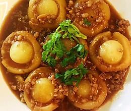 #营养小食光#肉糜土豆蘑菇的做法