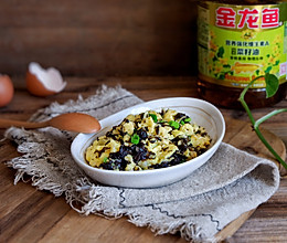 紫菜炒鸡蛋#金龙鱼营养强化维生素A 新派菜油#的做法