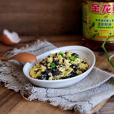 紫菜炒鸡蛋