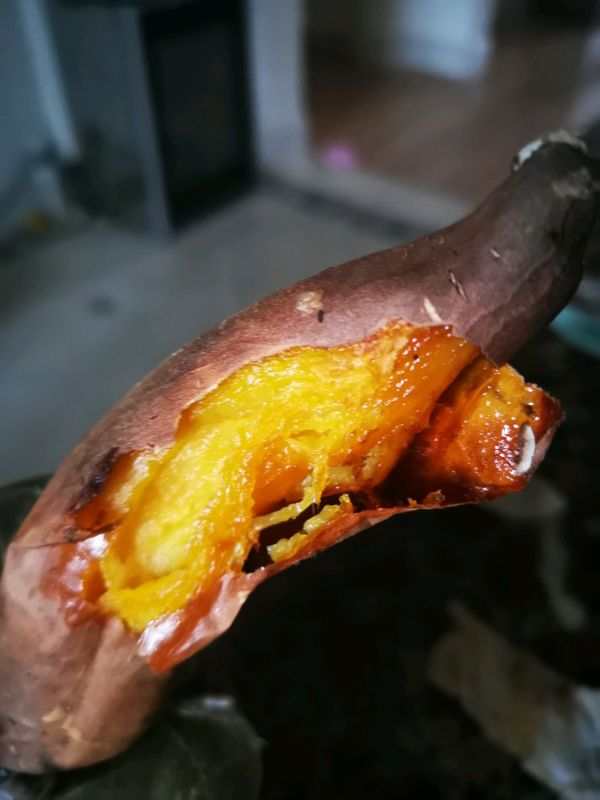 烤箱烤地瓜的做法