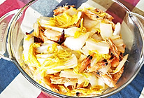 虾头炒白菜的做法