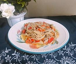 减肥食谱✨鲜美的清炒杏鲍菇的做法