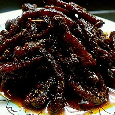 麻辣豆腐干(佐酒小食)