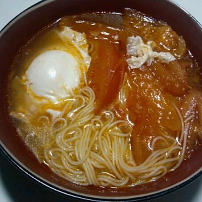 十分钟做西红柿鸡蛋挂面