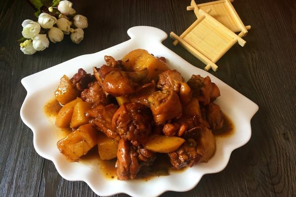 鸡腿炖土豆(电饭煲版)的做法
