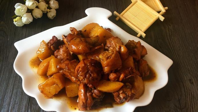 鸡腿炖土豆(电饭煲版)