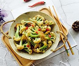 #精品菜谱挑战赛#干煸有机花菜的做法