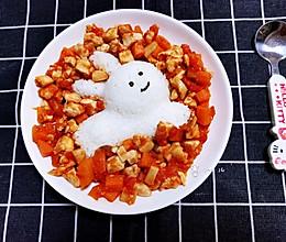 娃娃们喜欢的茄汁鸡丁的做法