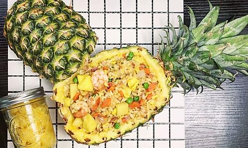 菠萝炒饭   清甜可口,甘之如饴的做法