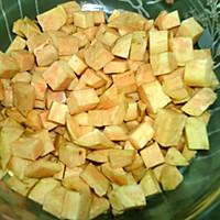 #味达美名厨福气汁,新春添口福# 红薯饼的做法图解2
