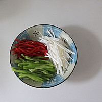 鱼香茭白的做法图解3