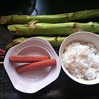 菜根炒饭—【菜根剩饭华丽转身】的做法图解1
