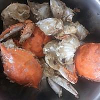 香辣酱梭子蟹的做法图解5