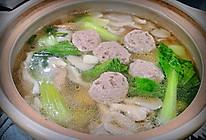 蘑菇牛肉丸汤的做法