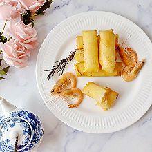 鲜虾芝士春卷#母亲节,给妈妈做道菜#
