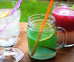 1分钟学会,3款颜值爆表的夏日特饮,西瓜花式吃法冰爽解渴的做法