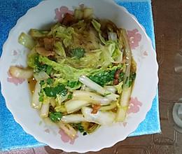 白菜炖五花肉的做法