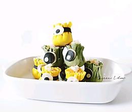 宝宝辅食-卡哇伊鲜虾烧麦的做法