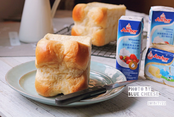 鲜奶油酒店面包#安佳儿童创意料理#的做法