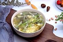 萝卜丝紫菜汤#今天吃什么#的做法