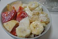 酸奶蔬果捞的做法