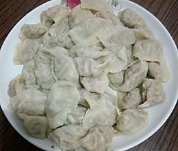 白萝卜猪肉馅饺子的做法