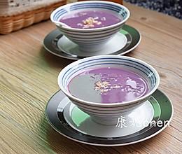 紫薯薏米银耳羹的做法