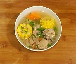 养生排骨汤(电饭煲版)的做法