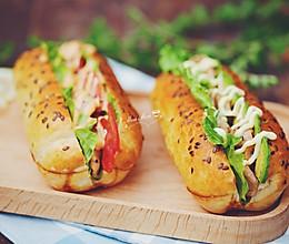 鸡肉三明治的做法