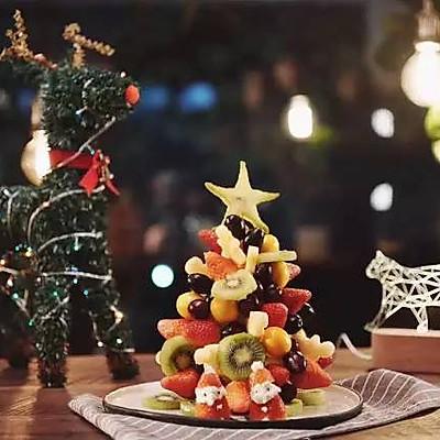 水果圣诞树|日食记