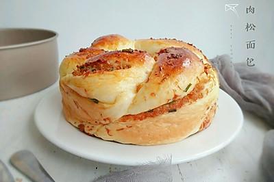 #父亲节,给老爸做道菜#肉松面包(汤种)