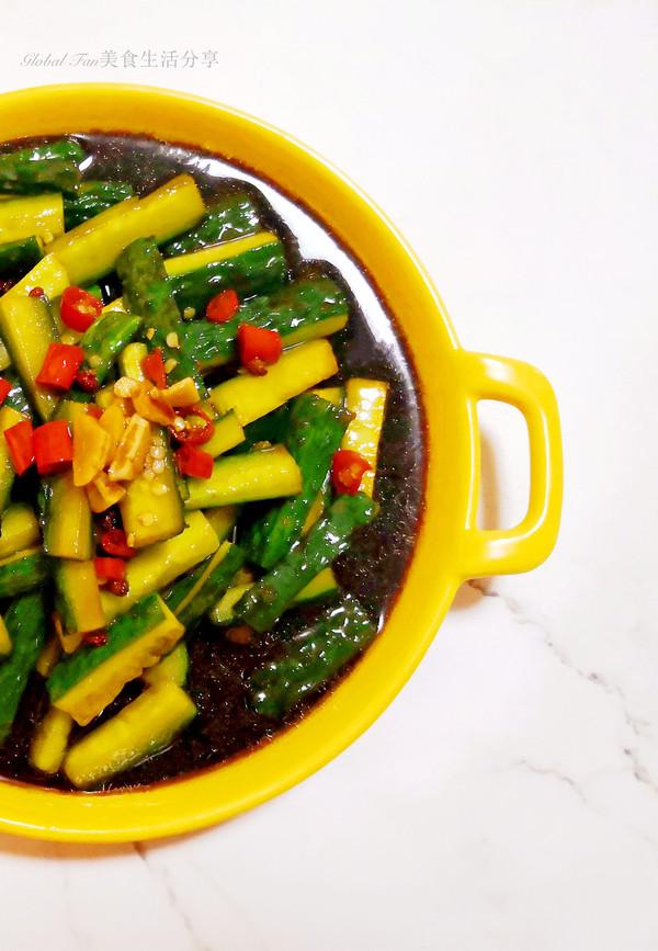 拯救夏季胃口小凉菜 | 酸辣黄瓜条
