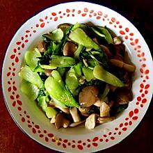 鲍汁香菇油菜