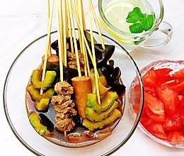 #营养小食光#潮汕风味串串的做法