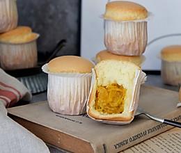 芒果流心纸杯蛋糕#精品菜谱挑战赛#的做法