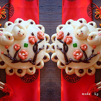 新年好彩头|花样面食枣花糕——喜鹊登梅