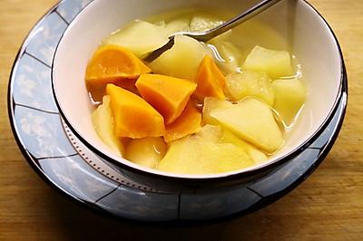 红薯苹果糖水