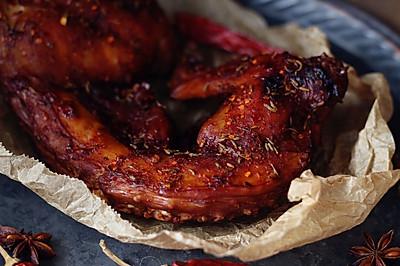香辣烤兔肉#厨此之外,锦享美食#