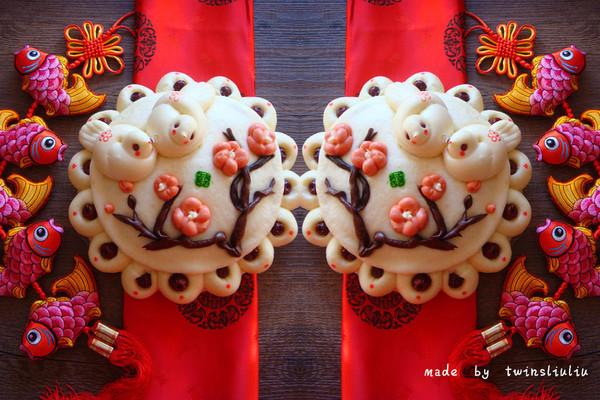 新年好彩头|花样面食枣花糕——喜鹊登梅的做法
