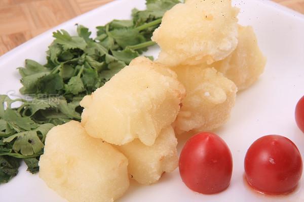 脆皮鲜奶—《顶级厨师》参赛作品的做法