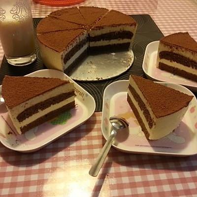 輕松幾步做出美味提拉米蘇(巧克力海綿蛋糕版)