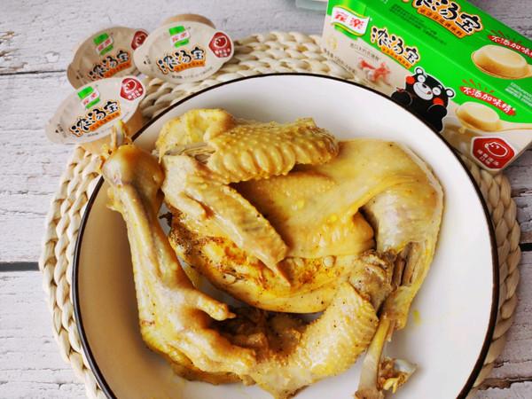 盐焗鸡高压锅版的做法