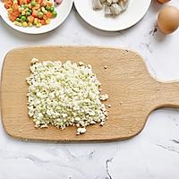 #春季减肥,边吃边瘦#无米减脂炒饭的做法图解3