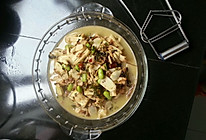 鞭笋雪菜毛豆的做法