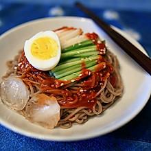 韩式辣拌面(冷面)