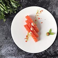 #做道懒人菜,轻松享假期#三文鱼